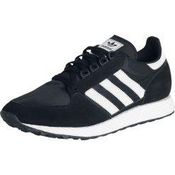 Adidas Forest Grove Buty sportowe czarny/biały. Białe buty sportowe męskie Adidas, z paskami. Za 199,90 zł.