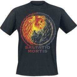 T-shirty męskie: Saltatio Mortis Yin Yang T-Shirt czarny