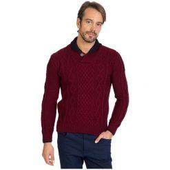 Sir Raymond Tailor Sweter Męski, Xxl, Burgundowy. Czerwone swetry klasyczne męskie Sir Raymond Tailor, m, z wełny. Za 199,00 zł.