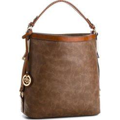 Torebka JENNY FAIRY - RC11999 Lt. Brown. Brązowe torebki klasyczne damskie Jenny Fairy, ze skóry ekologicznej, duże. Za 119,99 zł.