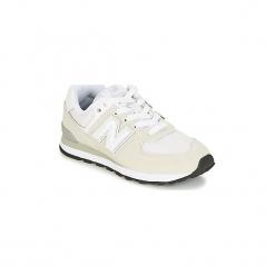 Buty Dziecko New Balance  574. Białe trampki chłopięce marki New Balance. Za 215,20 zł.