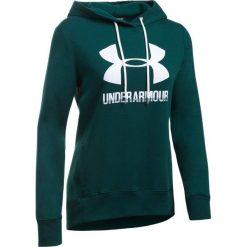 Bluzy sportowe damskie: Under Armour Bluza damska Favorite Fleece PO zielona r.M (1302360-919)