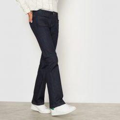 Dżinsy flare 10-16 lat. Szare spodnie chłopięce La Redoute Collections, z bawełny. Za 85,05 zł.