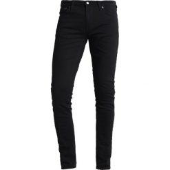 Nudie Jeans SKINNY LIN Jeans Skinny Fit black denim. Czarne rurki męskie marki Criminal Damage. Za 419,00 zł.