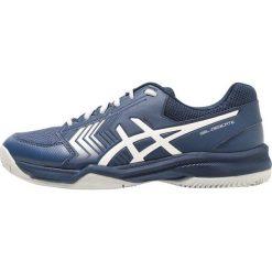 ASICS GEL DEDICATE 5 CLAY Obuwie do tenisa Outdoor dark blue/silver/white. Czarne buty do tenisa męskie marki Asics. Za 269,00 zł.