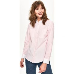 Koszula z kieszeniami - Różowy. Czerwone koszule damskie Sinsay, l. Za 59,99 zł.