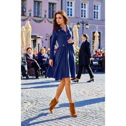 Sukienka z koła l282. Czarne długie sukienki marki Lemoniade, l, z bawełny, eleganckie, z długim rękawem. Za 159,00 zł.