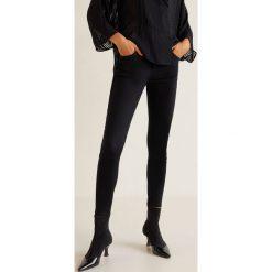 Mango - Jeansy Skinny. Czarne rurki damskie Mango, z bawełny. Za 119,90 zł.