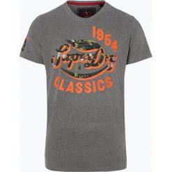 Superdry - T-shirt męski, szary. Szare t-shirty męskie Superdry, m, z materiału. Za 99,95 zł.