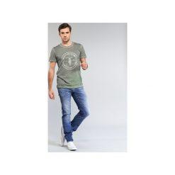 Jeansy slim fit Le Temps des Cerises  711 JOGG. Niebieskie jeansy męskie Le Temps Des Cerises, z jeansu. Za 351,20 zł.