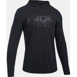 Bluzy męskie: Under Armour Bluza męska Sportstyle Stretch  Hoodie grafitowa r. XS (1303702-005)