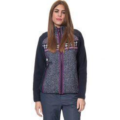 Kurtka polarowa w kolorze granatowo-fioletowym. Niebieskie kurtki damskie marki CMP Women, z polaru. W wyprzedaży za 227,95 zł.