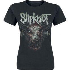 Slipknot Infected Goat Koszulka damska czarny. Czarne t-shirty damskie Slipknot, xxl, z nadrukiem, z dekoltem na plecach. Za 74,90 zł.