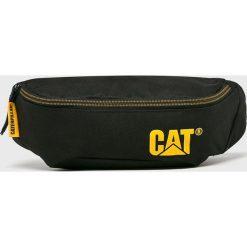 Caterpillar - Nerka. Czarne walizki marki Caterpillar, w paski, z materiału, małe. Za 69,90 zł.