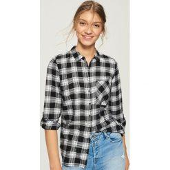 Koszula z frędzlami - Czarny. Czarne koszule damskie Sinsay, l. W wyprzedaży za 29,99 zł.