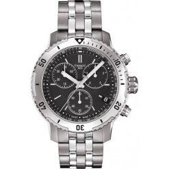 PROMOCJA ZEGAREK TISSOT T-Sport T067.417.11.051.01. Czarne zegarki męskie TISSOT, ze stali. W wyprzedaży za 1804,00 zł.