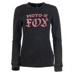 FOX Bluza Damska Moto X Crew S Czarny. Czarne bluzy rozpinane damskie FOX, s. Za 217,00 zł.