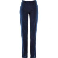 """Dżinsy """"SKINNY"""" bonprix ciemny denim nowy. Niebieskie jeansy damskie bonprix, z denimu. Za 74,99 zł."""