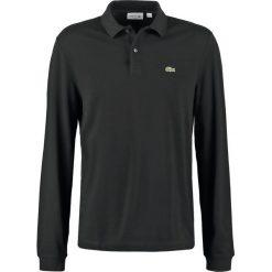 Lacoste SLIM FIT PH4013 Koszulka polo black. Szare koszulki polo marki Lacoste, z bawełny. Za 439,00 zł.