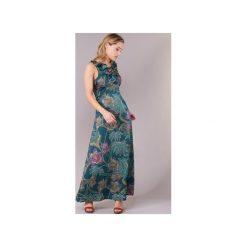 Sukienki długie Morgan  REMO. Zielone sukienki marki Reserved, z wiskozy. Za 290,50 zł.