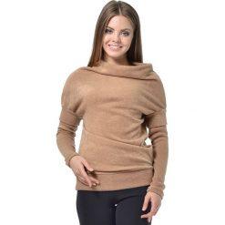 Sweter w kolorze beżowym. Brązowe swetry klasyczne damskie Lada Lucci, xxs. W wyprzedaży za 189,95 zł.