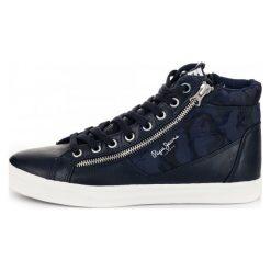 Pepe Jeans Tenisówki Męskie Marton Boot 43 Ciemny Niebieski. Niebieskie trampki męskie Pepe Jeans, z jeansu. Za 366,00 zł.