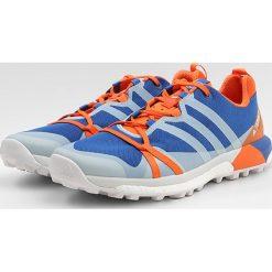 Adidas Performance TERREX AGRAVIC Obuwie do biegania Szlak blubea/greone/orange. Niebieskie buty do biegania męskie adidas Performance, z materiału. W wyprzedaży za 479,20 zł.