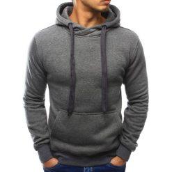 Bluzy męskie: Bluza męska z kapturem antracytowa (bx3046)
