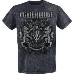 Powerwolf Metal Is Religion - Crest T-Shirt czarny. Niebieskie t-shirty męskie z nadrukiem marki Reserved, l, z okrągłym kołnierzem. Za 99,90 zł.