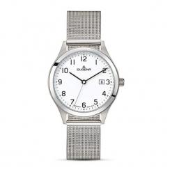 """Zegarek """"4460719"""" w kolorze srebrnym. Szare, analogowe zegarki męskie Dugena & Nautec No Limit, srebrne. W wyprzedaży za 329,95 zł."""