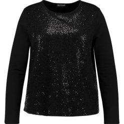 Bluzki asymetryczne: JETTE Bluzka z długim rękawem black