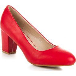 Buty ślubne damskie: Czółenka na słupku  APRIL