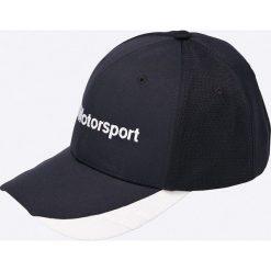 Puma - Czapka. Czarne czapki z daszkiem męskie marki Puma, z bawełny. W wyprzedaży za 79,90 zł.