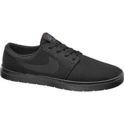 Buty sportowe męskie: buty męskie Nike Sb Portmore II Ultralight NIKE czarne