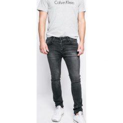 Sky Rebel - Jeansy. Szare jeansy męskie skinny Sky Rebel, z aplikacjami, z bawełny. W wyprzedaży za 119,90 zł.