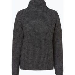 Comma casual identity - Sweter damski z dodatkiem alpaki, szary. Szare swetry klasyczne damskie comma casual identity, z dzianiny. Za 359,95 zł.