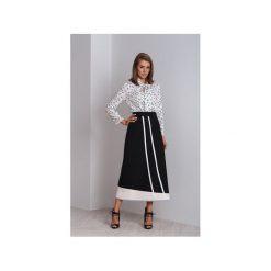 Czarna długa asymetryczna spódnica Nella. Szare długie spódnice marki Miss Sixty, m, z dzianiny, asymetryczne. Za 260,00 zł.