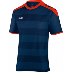 Koszulki sportowe męskie: Jako Celtic krótki rękaw Koszulka – Mężczyźni – granatowy / red_s