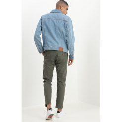 Kurtki męskie bomber: Abercrombie & Fitch Kurtka jeansowa med blue