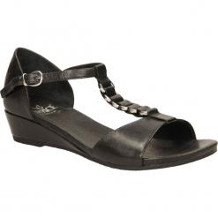 SANDAŁY CAPRICE 9-28302-24. Czarne sandały damskie Caprice. Za 206,99 zł.