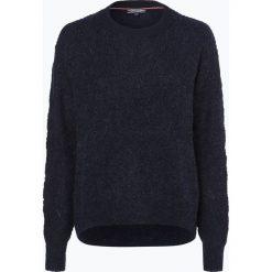 Swetry klasyczne damskie: Tommy Hilfiger – Sweter damski z dodatkiem alpaki, niebieski