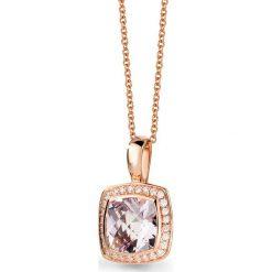 Naszyjniki damskie: Naszyjnik - złoto różowe 585, Różowy ametyst...