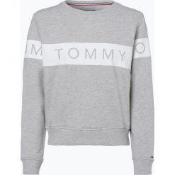 Tommy Jeans - Damska bluza nierozpinana, szary. Szare bluzy damskie marki Tommy Jeans, l, w paski, z jeansu. Za 249,95 zł.