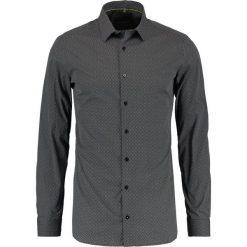 Koszule męskie na spinki: Eterna KENT SUPER SLIM FIT Koszula biznesowa schwarz