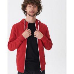 Bluza z kapturem - Czerwony. Czerwone bluzy męskie rozpinane marki KALENJI, m, z elastanu, z długim rękawem, długie. Za 89,99 zł.