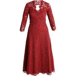 IVY & OAK OPEN BACK FLARED Sukienka koktajlowa rusty red. Czerwone sukienki koktajlowe IVY & OAK, z bawełny. Za 719,00 zł.