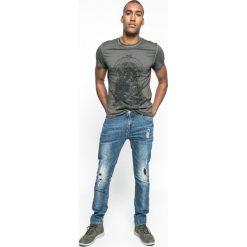 Medicine - Jeansy Let's Rebel. Szare jeansy męskie slim MEDICINE, z bawełny. W wyprzedaży za 59,90 zł.