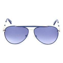 """Okulary przeciwsłoneczne męskie: Okulary przeciwsłoneczne """"BL251204"""" w kolorze niebieskim"""