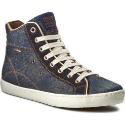 Sneakersy GEOX - J Kiwi G. A J72D5A 01322 C4001 D Dżins. Niebieskie buty sportowe chłopięce Geox, z materiału. W wyprzedaży za 199,00 zł.