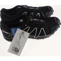 Buty skate męskie: Salomon Buty męskie Speedcross 4 GTX Black/Black r. 44 2/3 (383181) [outlet]